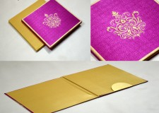 Satin Cloth Card Design AC 243