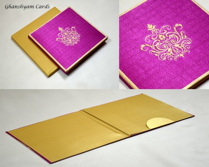Satin Cloth Card Design AC 243