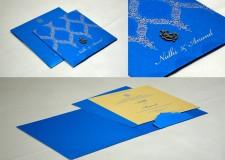 Blue Budget Wedding Card GC 2003