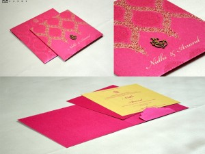 Pink Budget Wedding Card GC 2004