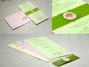 Parrot Theme Designer Wedding Card GC 2018