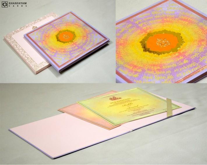 Ganesh Shlok Exclusive Hindu Wedding Card Designs GC 2053