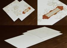 Designer Budget Wedding Card GC 3006