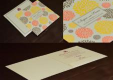 Budget Wedding Card GC 3012