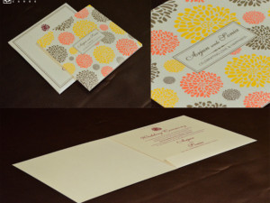 Budget Wedding Card GC 3012