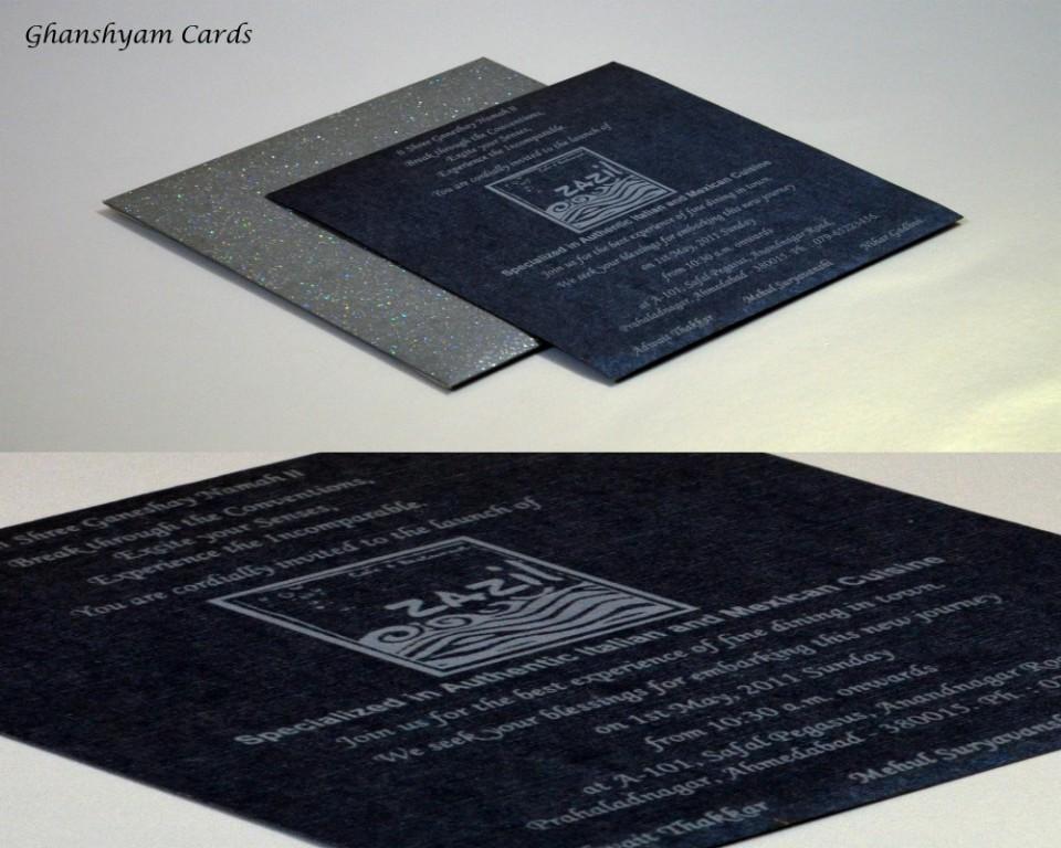 Inauguration Invitation Card Code GCP 24