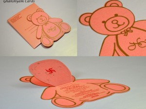 Baby Shower Card or Birthday Invitation Card Code GCP 25