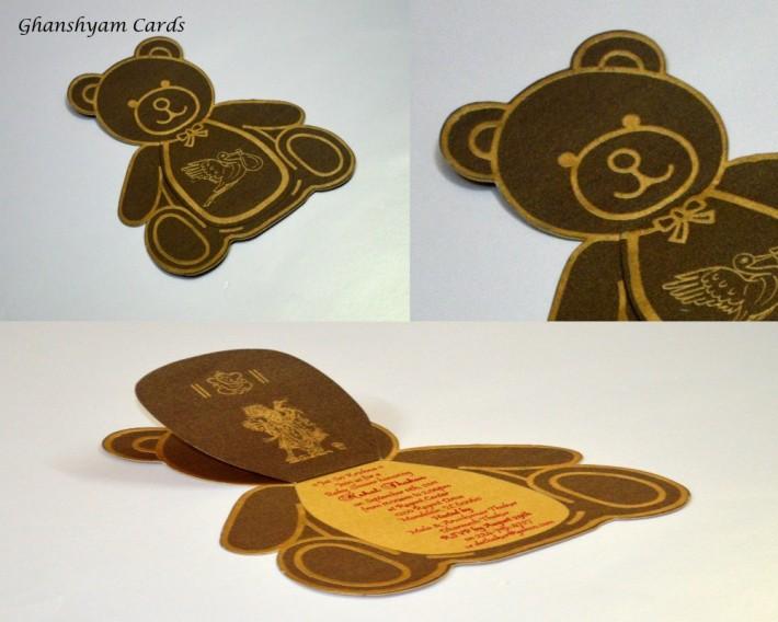 Baby Shower Card or Birthday Invitation Card Code GCP 26