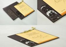 Phera Laser Cut MDF Wedding Card LM 212