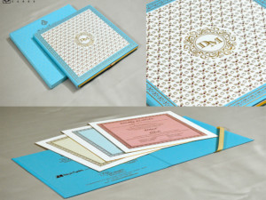 Exclusive Wedding Card Design MG 318
