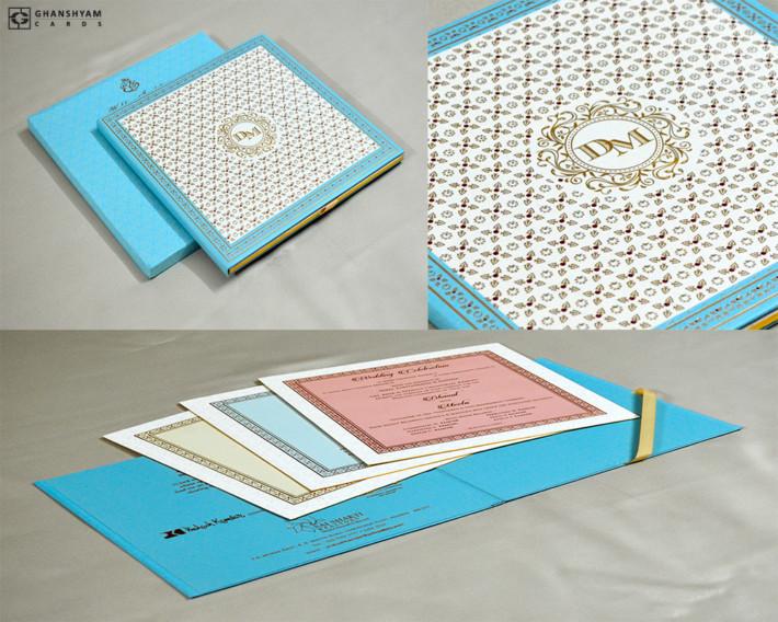 Exclusive Wedding Card Design MG 318