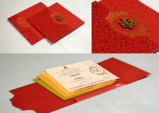 Red Budget Wedding Card PR 1023