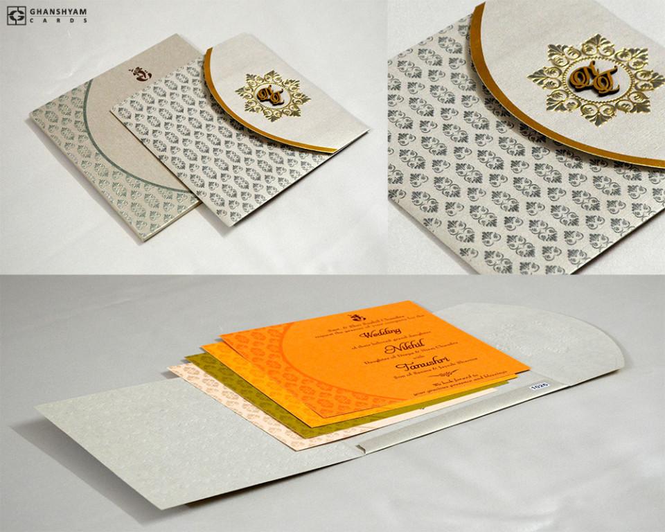 Budget Wedding Card PR 1026
