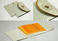 Pista Green Center Opening Wedding Card PR 1026