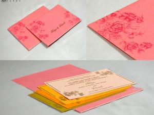 Budget Wedding Card PR 1056
