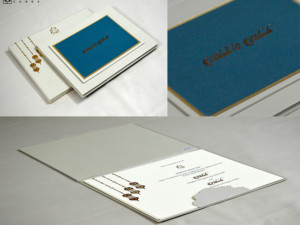 Green Velvet Exclusive Wedding Card Design PR 2022