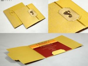 Center Opening Budget Hindu Wedding Card PR 738