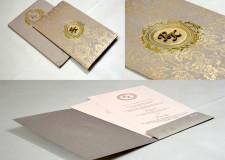 Grey Wedding Card PR 489