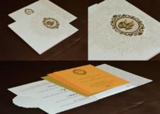 Ivory Budget Wedding Card PR 711