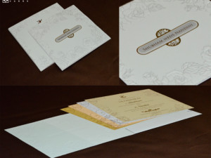 Budget Wedding Card PR 719