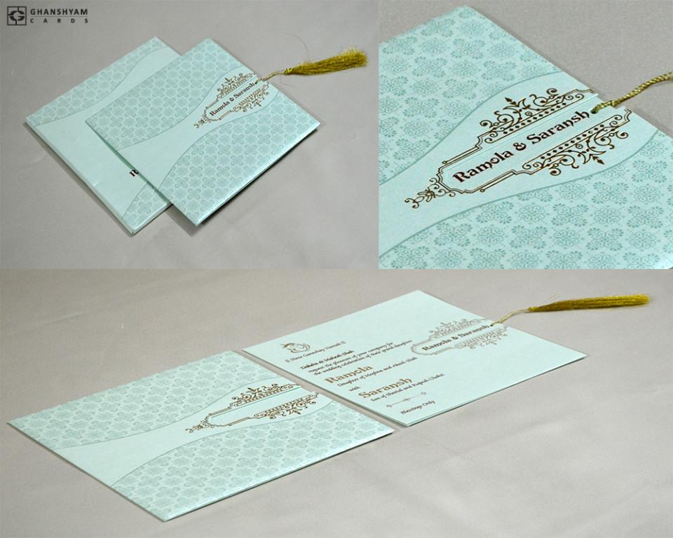 Budget Wedding Card PR 721