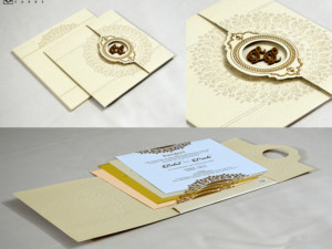 Door Style Hindu Wedding Card PR 735
