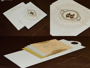 Door Style Hindu Wedding Card PR 736