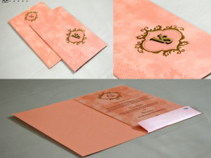 Budget Wedding Card Design PR 760