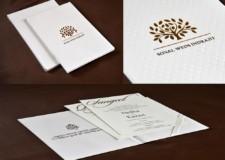 Tree Lasercut Wedding Card Design RB 1685 WHITE