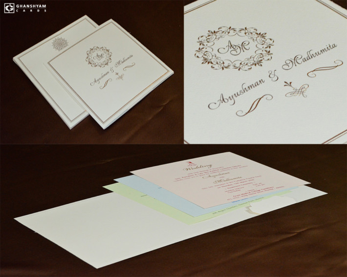 Simple Wedding Card RN 2532