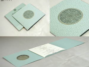 Laser Cut Wedding Card Design RN 2535 PISTA