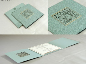Laser Cut Wedding Card Design RN 2556 PISTA