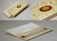 Exclusive Box Scroll Invitation SC 158