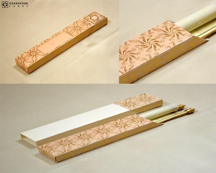 Scroll Invitation Design SC 164