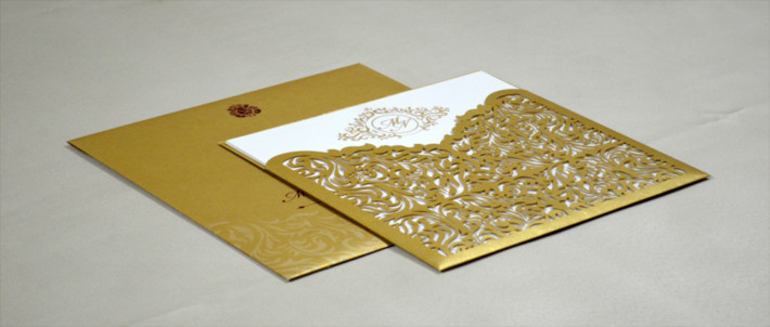 Laser Cut Wedding Cards in India Online